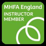 MHFA Instructor Member Badge_Green Small